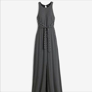 WHBM tie front dress- beautiful and comfortable